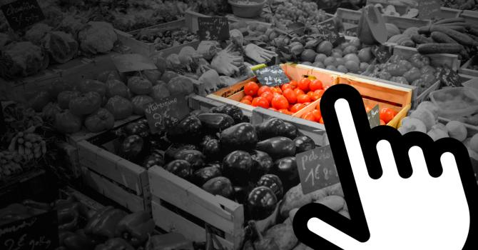 Batalla per la distribució d'aliments online