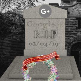 Google+ : Tancat per defunció
